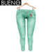 Bueno - Jeans - Mint - Slink Hourglass, Physique, Fit Mesh