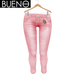 Bueno - Jeans - Coral - Slink Hourglass, Physique, Fit Mesh