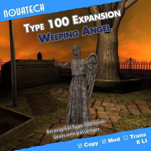Type 100 Form - Weeping Angel
