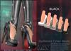 A&Y Opiliones Cyber Heels - Black