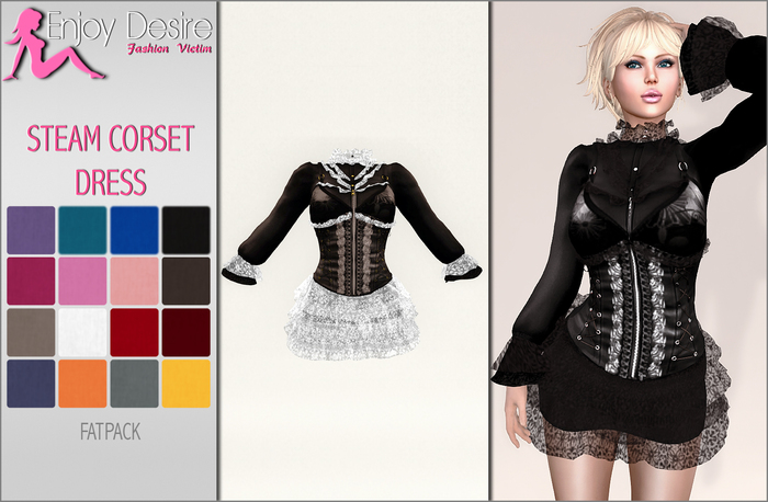 Steam Corset Dress - MAITREYA