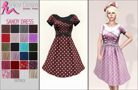 Retro Sandy Dress