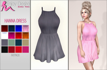 Hanna Slim Strap Dress Fitted & Classic