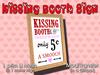 Custom Love: Kissing Booth Poster