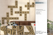 Sway's [Word Game] Wall art