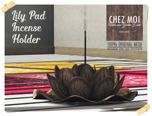 Lily Pad Incense Holder ♥ CHEZ MOI
