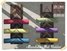 Mandala Mat Holder Set ♥ CHEZ MOI
