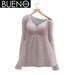 BUENO - Cozy Sweater - Rose - Belleza, Freya, Isis, Slink, Hourglass, Fit Mesh