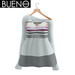 BUENO - Cozy Sweater - White and Gray - Belleza, Freya, Isis, Slink, Hourglass, Fit Mesh