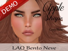 "Apple Shape ""LAQ Bento Neve Head"" Demo"