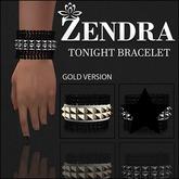 Tonight Bracelet Gold Spikes