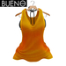 BUENO - Jun Tank & Bikini Top - Orange - Belleza, Freya, Isis, Slink, Hourglass, Fit Mesh