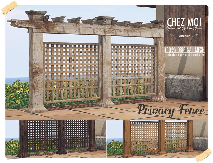 Privacy Fence ♥ CHEZ MOI