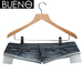 BUENO - Denim Cut Shorts - Indigo - Belleza, Freya, Isis, Slink, Hourglass, Fit Mesh
