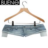 BUENO - Denim Cut Shorts - Sky - Belleza, Freya, Isis, Slink, Hourglass, Fit Mesh
