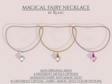 .: Runic :. Magical Fairy Necklace