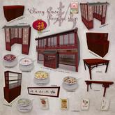 16.Cherry House-Porridge shop-Chinese two storey building-RARE