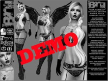 **DEMO**MARENKA VICTORIA SECRETS RISQUE STYLE COMPLET OUTFIT **