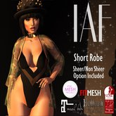 IAF Short Robe (DEMO)WEAR ME