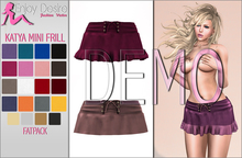 Katya Mini Frill Skirt - BELLEZA - DEMO