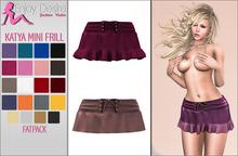 Katya Mini Frill Skirt - TONIC