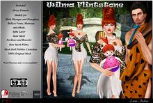 -Lamu Fashion-Outfit *Wilma Flintstone*