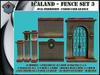 Icaland - Fence 3 Set + AO maps