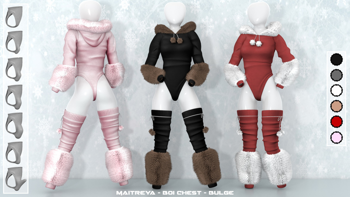[V-Tech]Snowball Leggings[Fatpack]