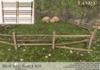 Split rail fence ad