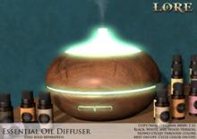 {LORE} Essential Oil Diffuser (boxed)