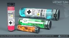 MedKit Tube (Nanites Version) [Neurolab Inc.] Cyber Cyberpunk Sci-fi Fashion