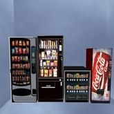 4 pack snack & drink vending Machines copy/transfer