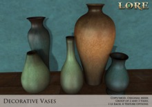 {LORE} Decorative Vases