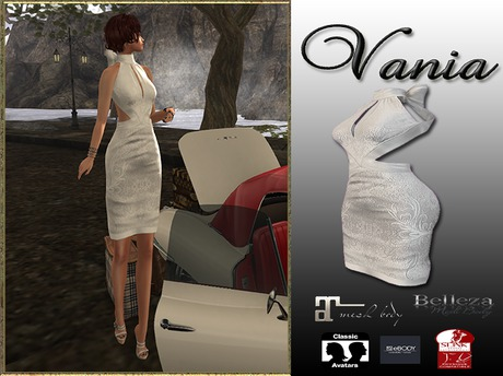 LR- Vania Dress White (sac)