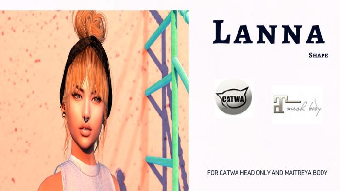 The MODO - Shape Lanna for Catwa Head