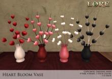 {LORE} Heart Bloom Vase