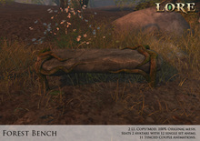 {LORE} Forest Bench