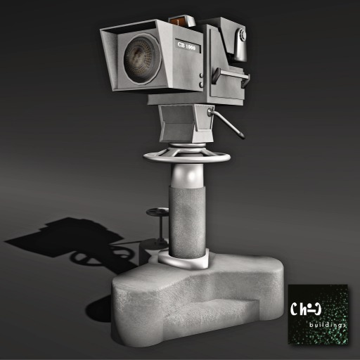 TV Studio Camera with Poses
