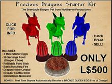 Precious Dragons Starter Kit v1.0 XStreet Box