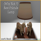 {Why Not ?} Best Friends Lamp - Boxed