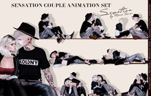 SEmotion Sensation Couple Set - 10 smooth animations