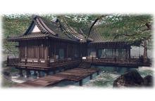 the House of the Rising Sun - Edo Japanese Temple