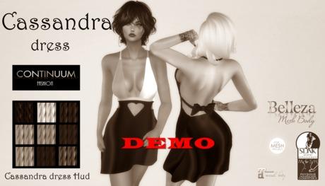 Continuum Cassandra dress - DEMO