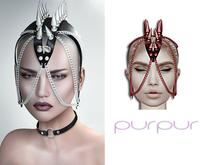 Purpur - Gotha Headpiece w/HUD - Clared