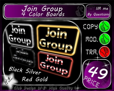 Join Group Set 4 Color