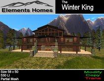 Winter King Log Home