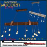 KOKEM SHOP-Fullperm.Suspended Wooden LampBOX(ADD ME)