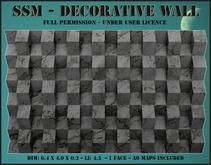 SSM - Decorative Wall