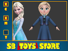 [SB TOYS] Princess Collection Doll - Little Elsa