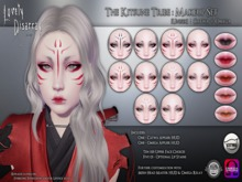 Lovely Disarray - The Kitsune Tribe : Makeup | Unisex (Catwa + Omega)